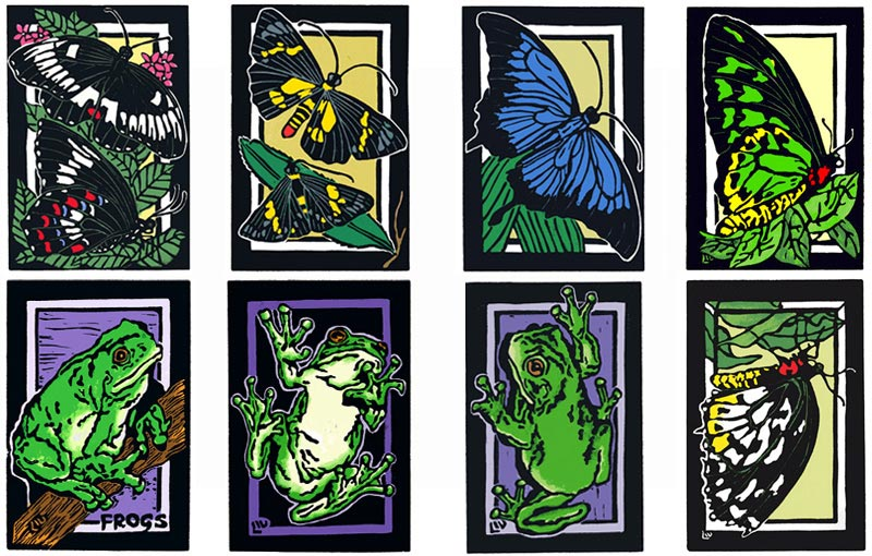 Butterflies – LINOCUTS HOME – LINOCUT